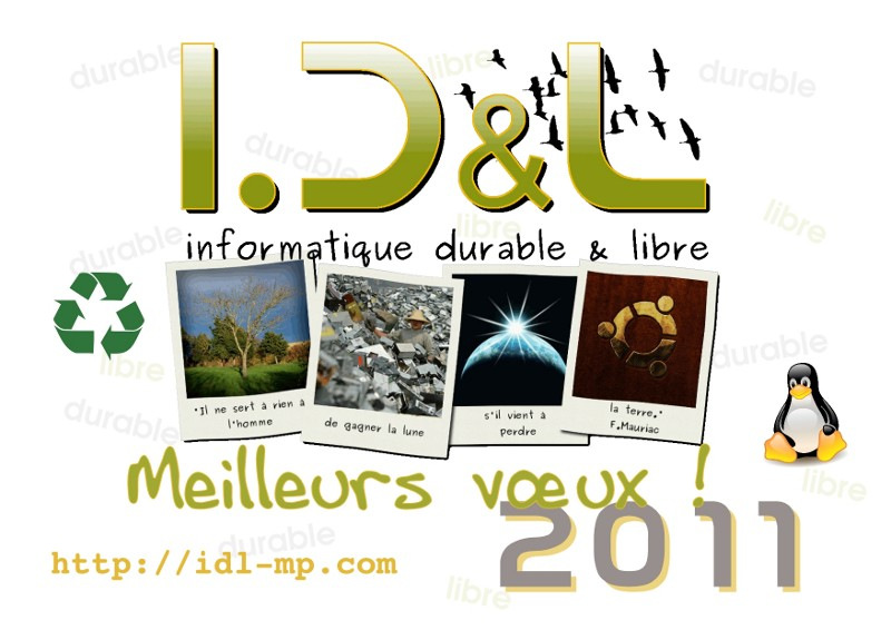 Meilleurs voeux 2011 !